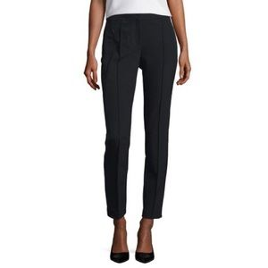 Lafayette 148 Orchard Stretch Straight-Leg Pant